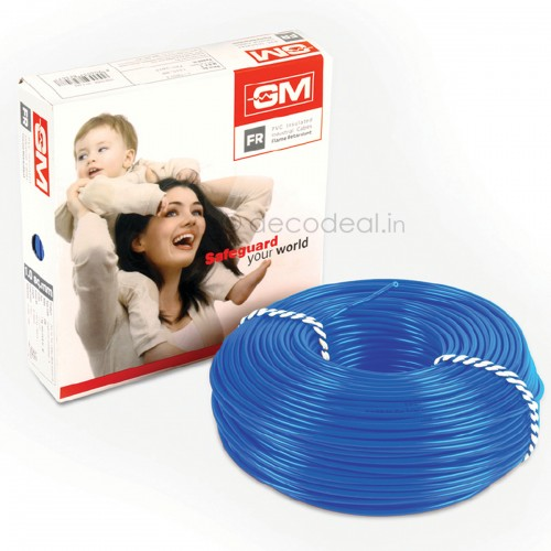 GM 4 Sq mm FR Type Modular Wire 90 mtrs 7005, GM MODULAR