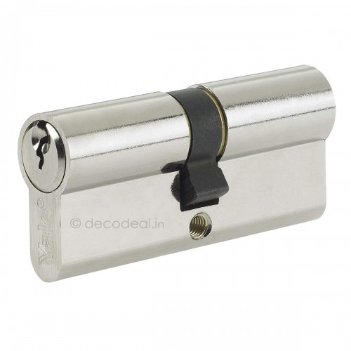 Euro Profile Cylinders - Regular Keys (3Nos.) 90MM (45+45), Door Cylinder, Yale Home Security, Mechanical Products, yale