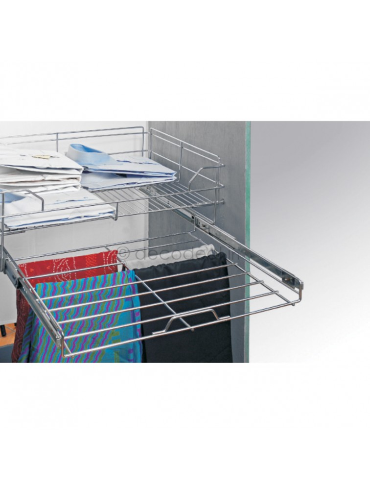 BASKET WITH TROUSER PULLOUT, LIFE TIME WIRE PRODUCTS