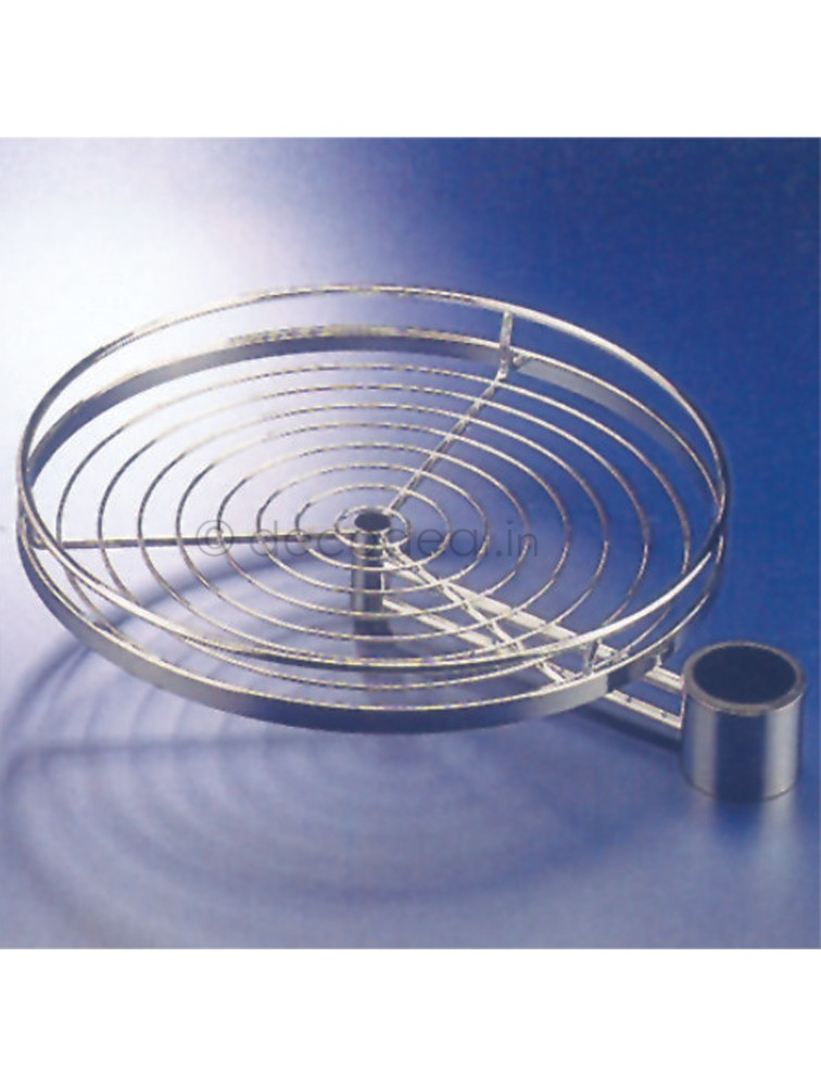 CIRCULAR ROTATING SHELF SET POLE SYSTEM, PLUS MODULAR KITCHENS