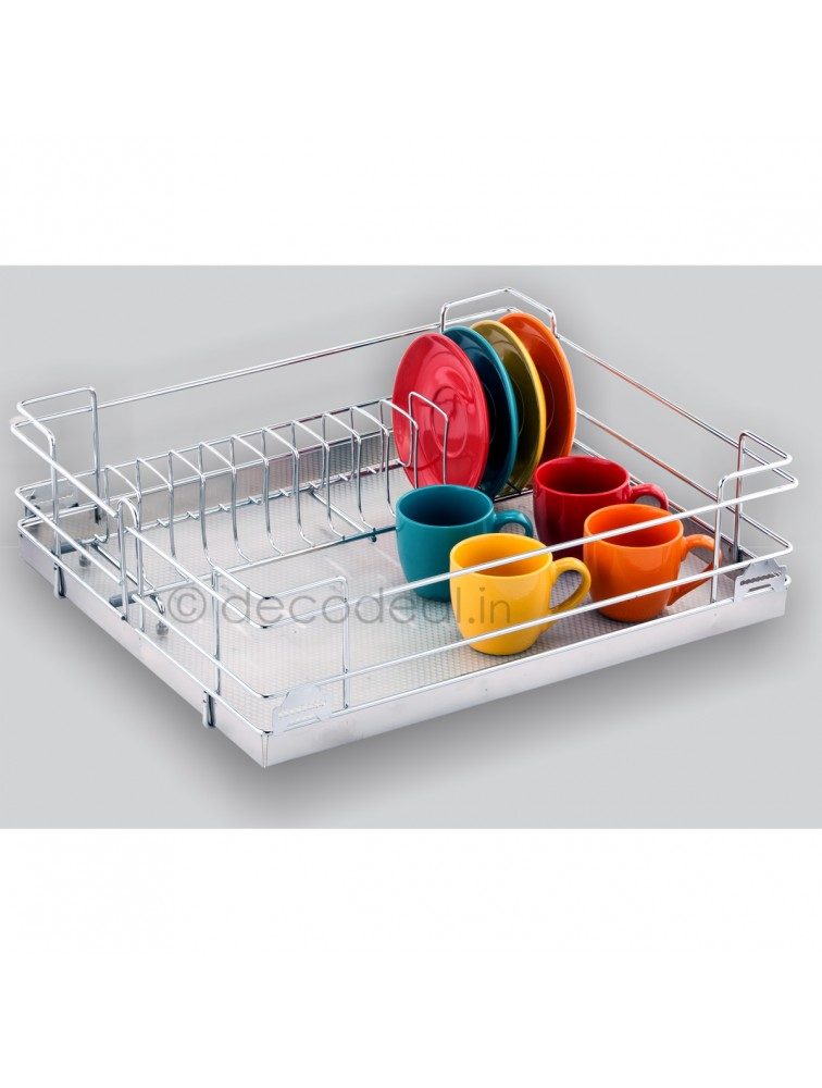 CUP AND SAUCER BASKET, LIFE TIME WIRE PRODUCTS