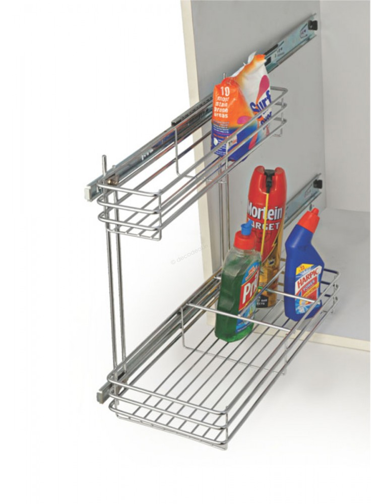 DETERGENT PULL - OUT , STAINLESS STEEL, LIFE TIME WIRE PRODUCTS