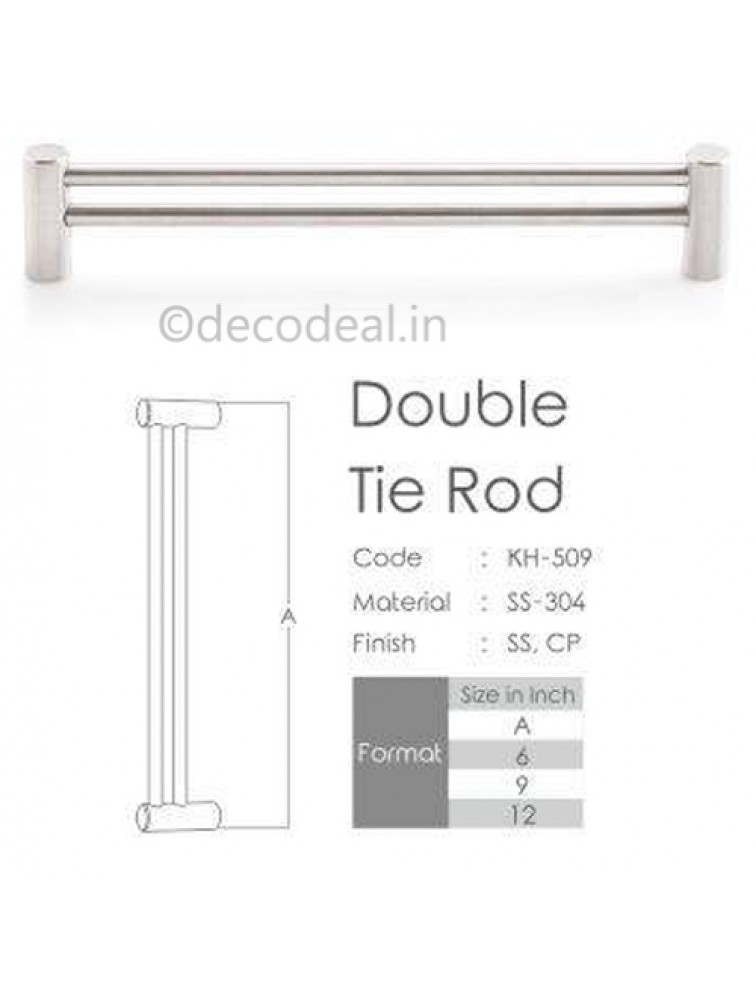DOUBLE TIE ROD, ACCESSORIES, KOIN ARCHITECTURAL HARDWARE