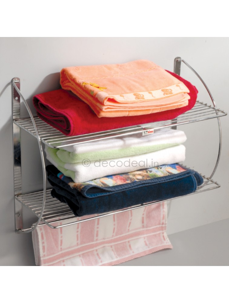 DOUBLE TOWEL RACK, LIFE TIME WIRE PRODUCTS