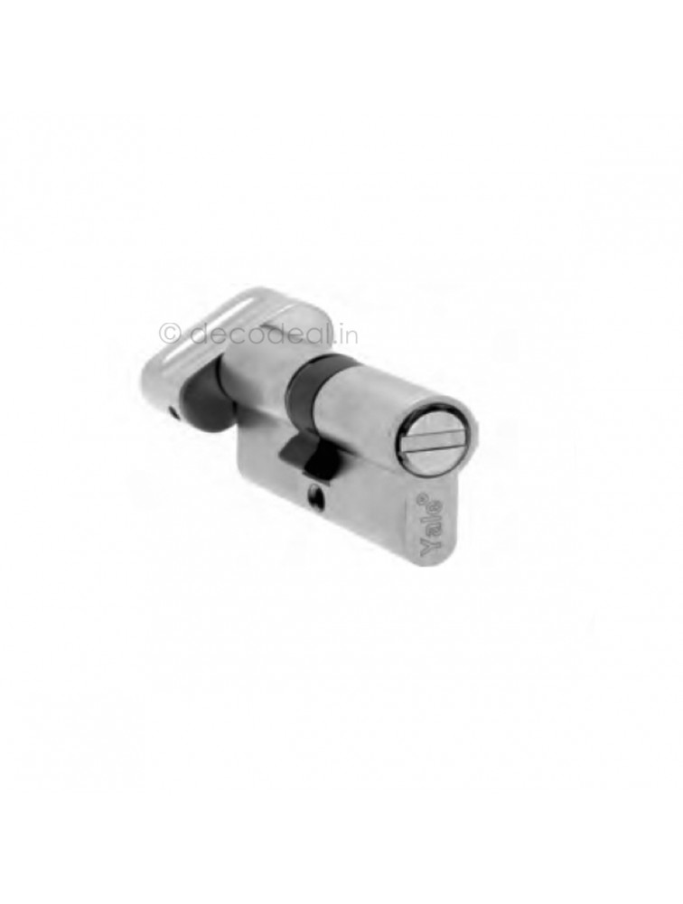 Euro Profile Cylinders - Regular Keys (3Nos.) 60MM (30+30), Door Cylinder, Yale Home Security, Mechanical Products, yale