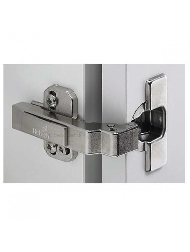 INTERMAT 9936 HINGE W90 - TH42 14-28 MM THICK DOORS; FACE ANGLE 90 Degree