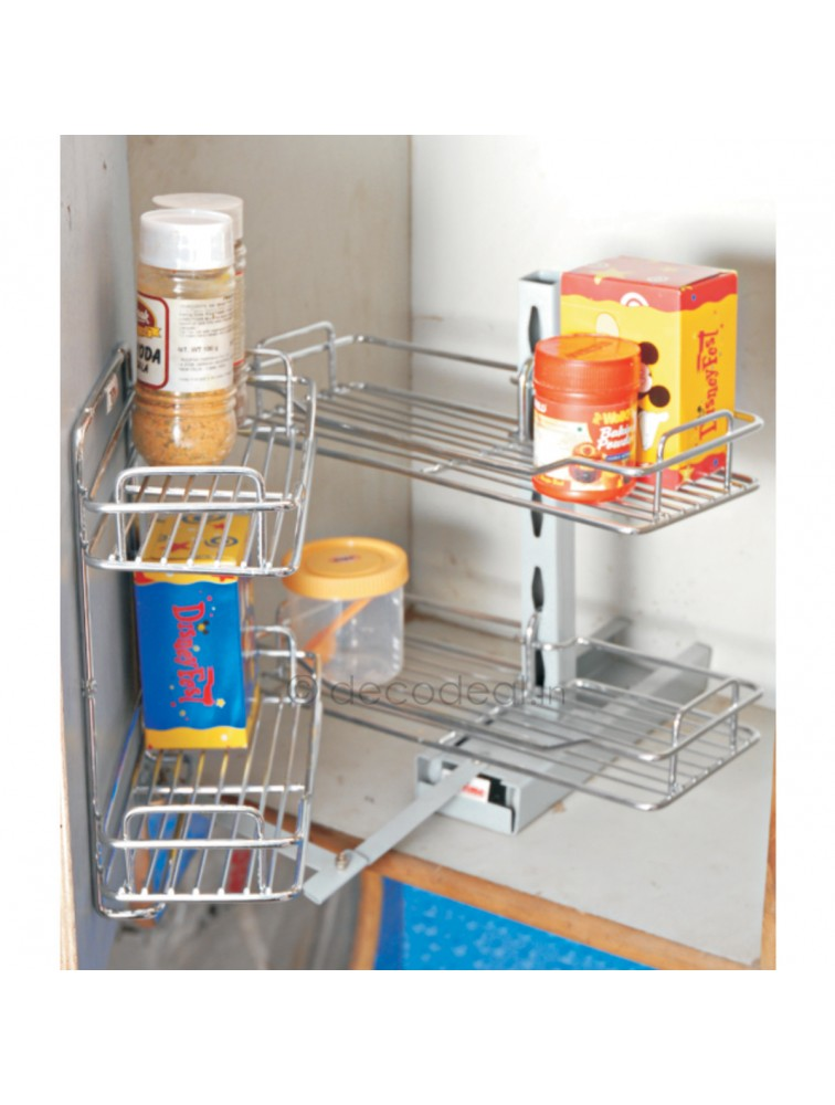 MINI OVERHEAD PANTRY, LIFE TIME WIRE PRODUCTS