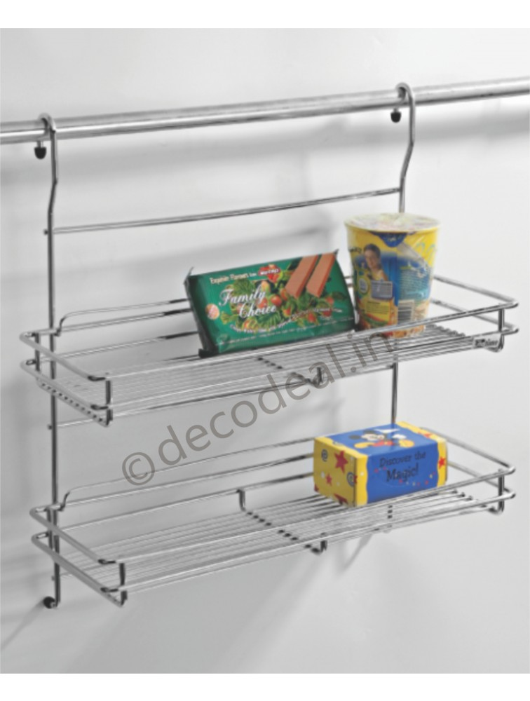 HANGING MULTIPURPOSE RACK DOUBLE, LIFE TIME WIRE PRODUCTS