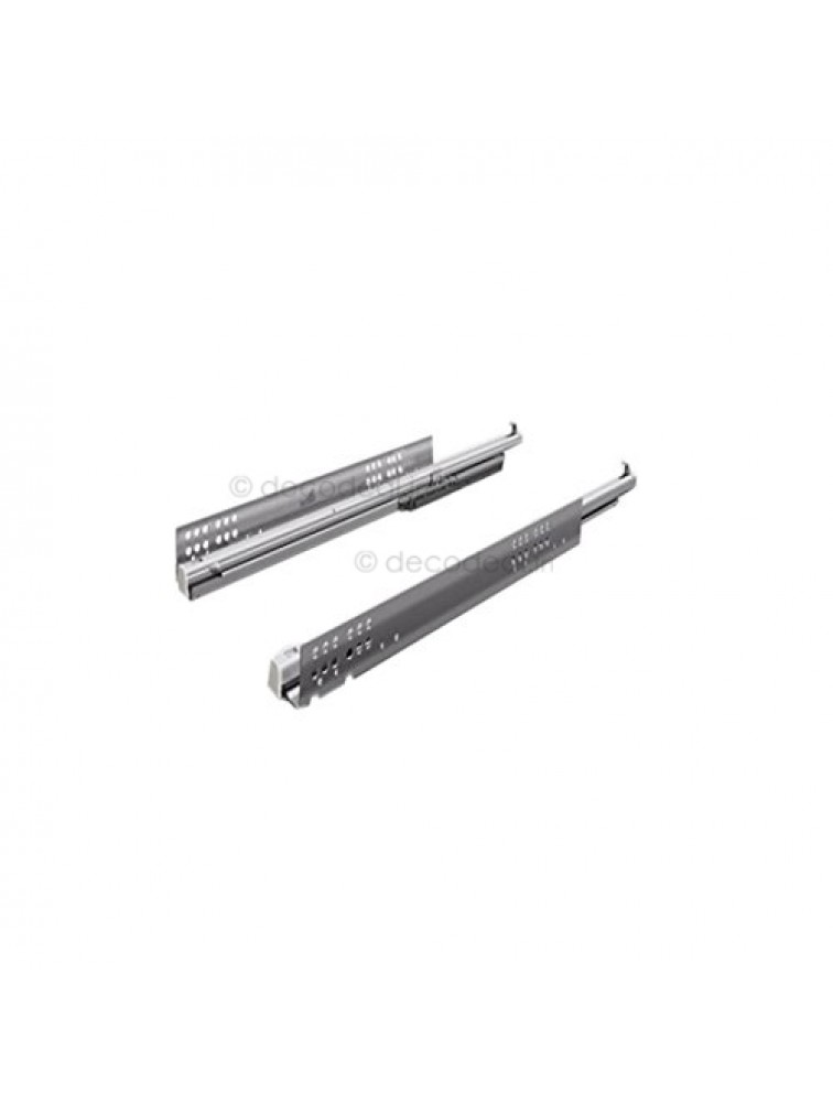 QUADRO -V6 FULL EXTENSION WITH SILENT SYSTEM 30 KG, DRAWER CHANNEL, HETTICH
