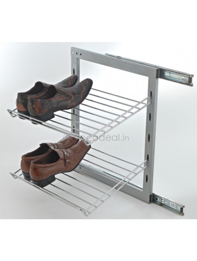 SIDE MOUNTING SHOE RACK PULL - OUT, LIFE TIME WIRE PRODUCTS