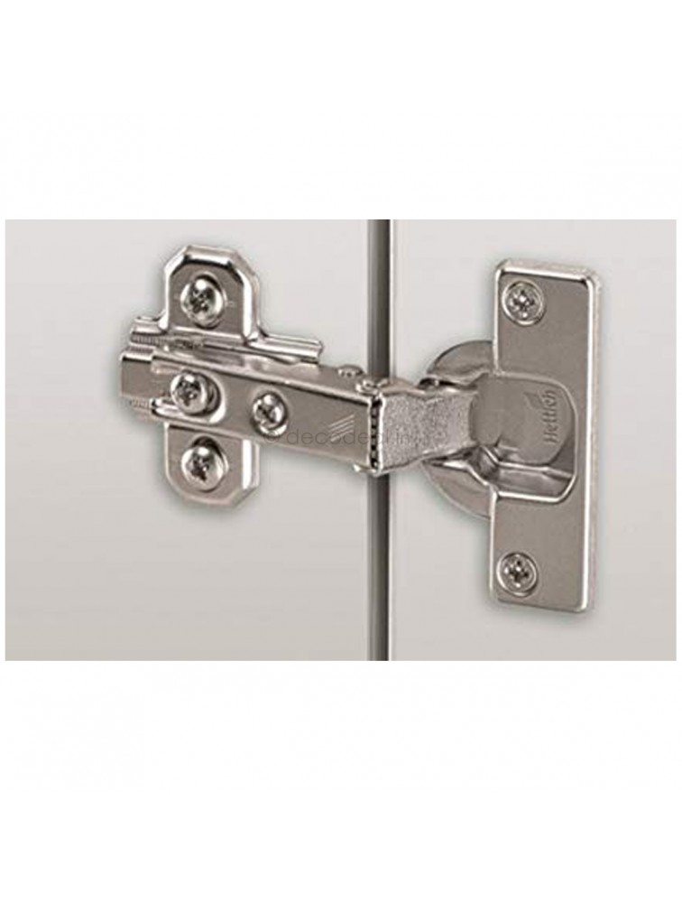 SLIDE ON 2333 HINGE - T42 FOR 14-25 MM THICK DOORS; OPENING ANGLE 95 degree