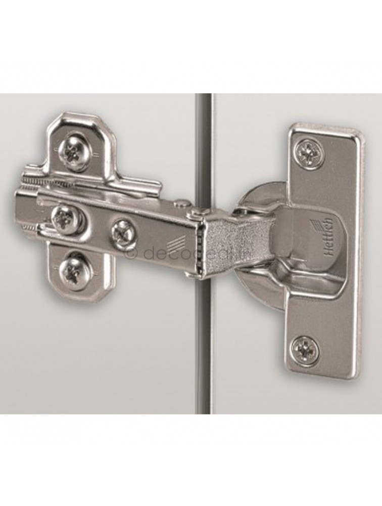 INTERMAT 9935 HINGE - TH22/L FOR 16-43 MM THICK DOORS; OPENING ANGLE 95