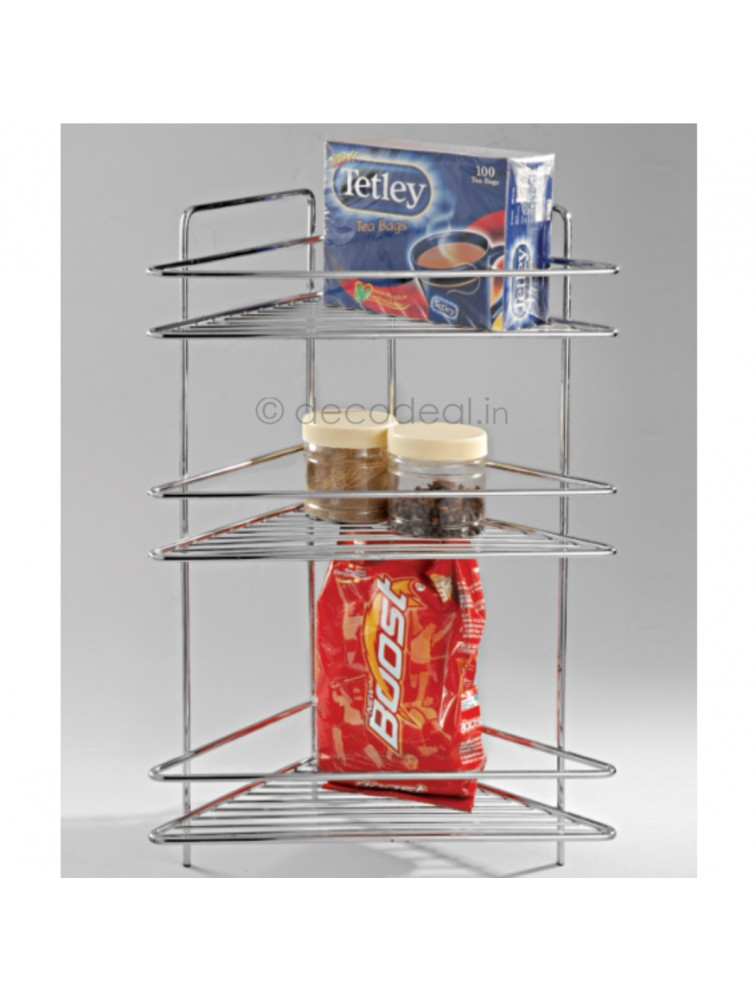 TRIPLE CORNER WIRE SHELF, LIFE TIME WIRE PRODUCTS
