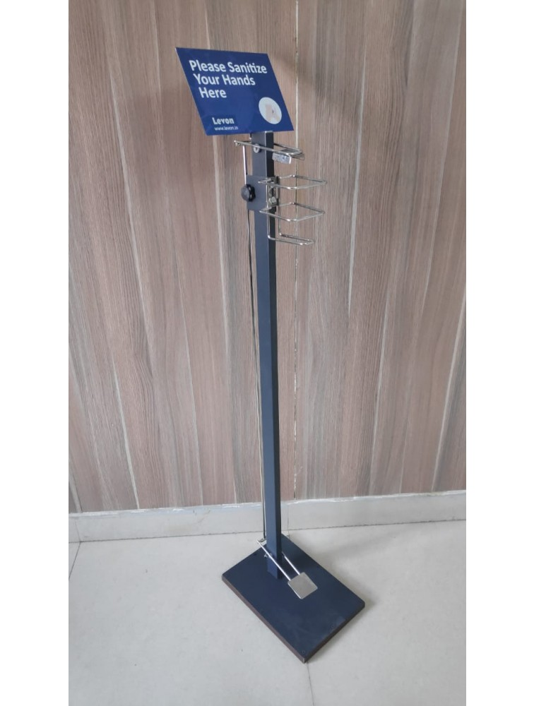 Pedal Operated Hand sanitizer Stand, Levon