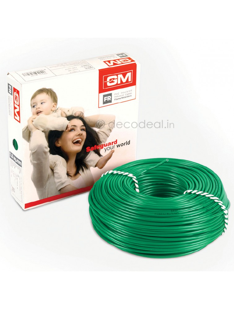 GM 1.5 Sq mm FR Type Modular Wire 90 mtrs 7003, GM MODULAR