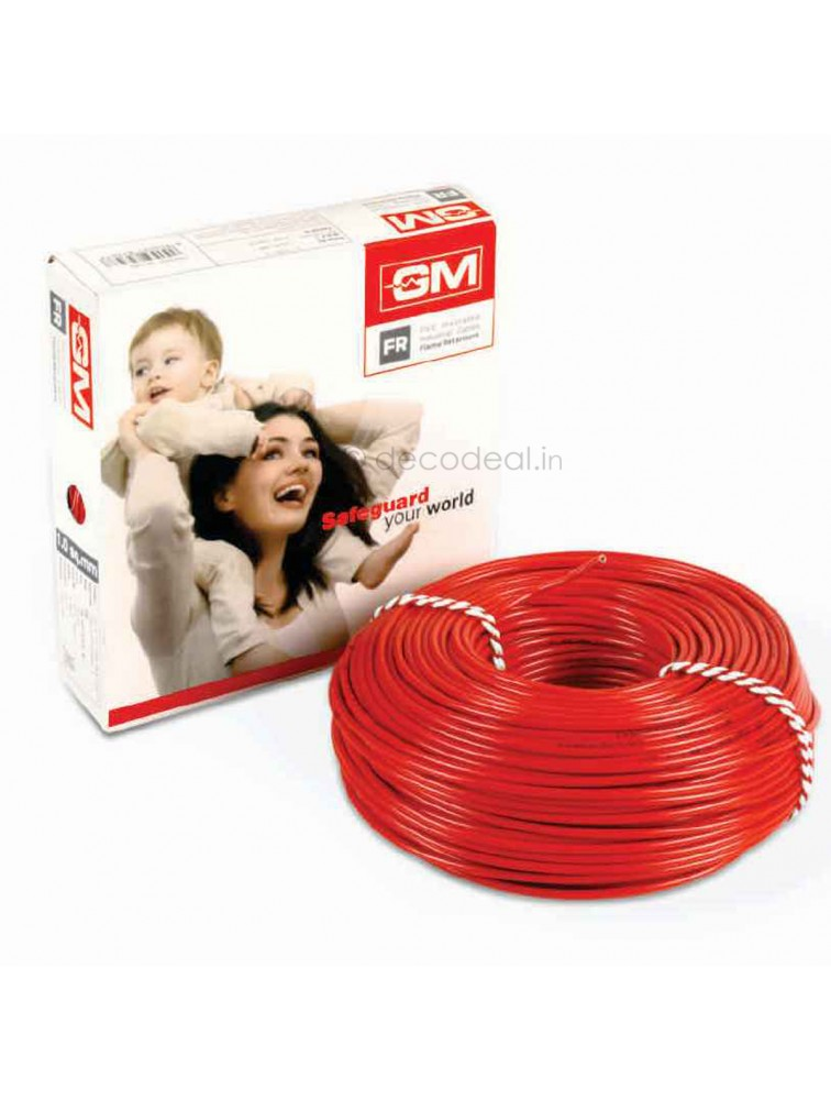 GM 6 Sq mm FR Type Modular Wire 90 mtrs 7006, GM MODULAR