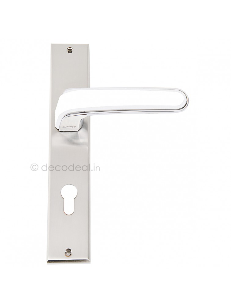 WM 1515  MORTISE HANDLE WITH LOCK, SRIS MA FILS, 250mm, WHITE METAL