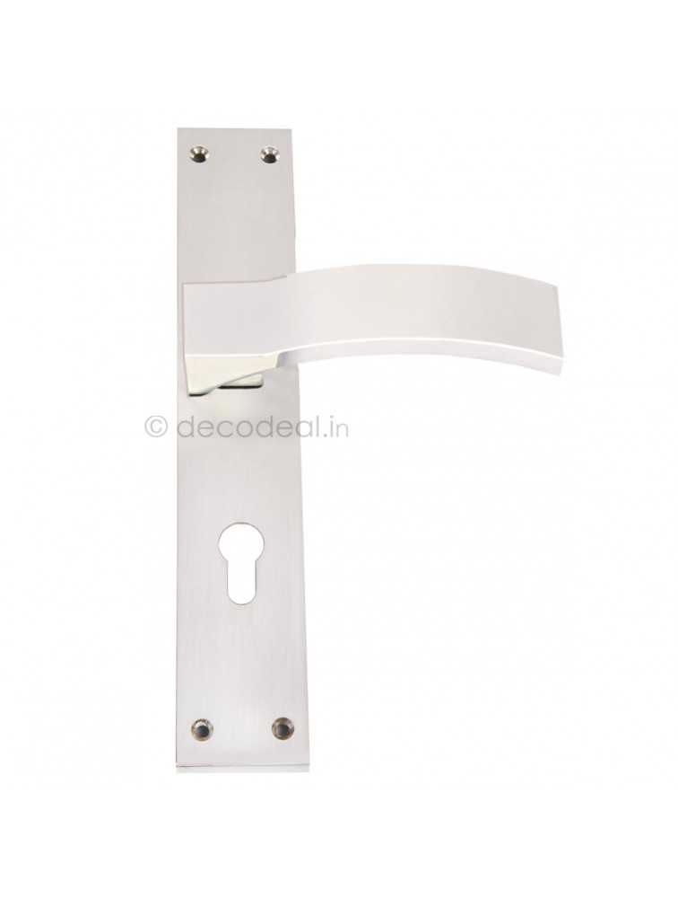 WM 2014  MORTISE HANDLE WITH LOCK, SRIS MA FILS, 275mm, WHITE METAL