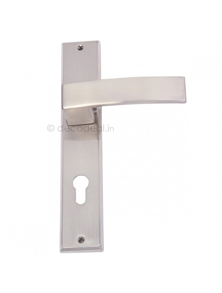 WM 3030  MORTISE HANDLE WITH LOCK, SRIS MA FILS, 250mm, WHITE METAL