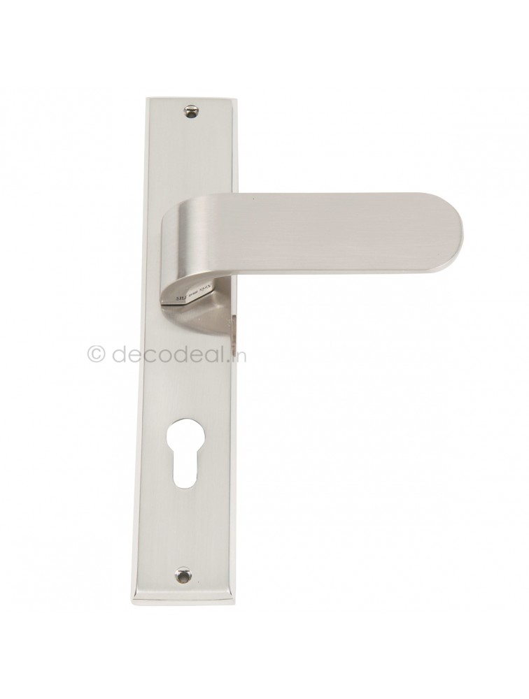 WM 6060  MORTISE HANDLE WITH LOCK, SRIS MA FILS, 275mm, WHITE METAL