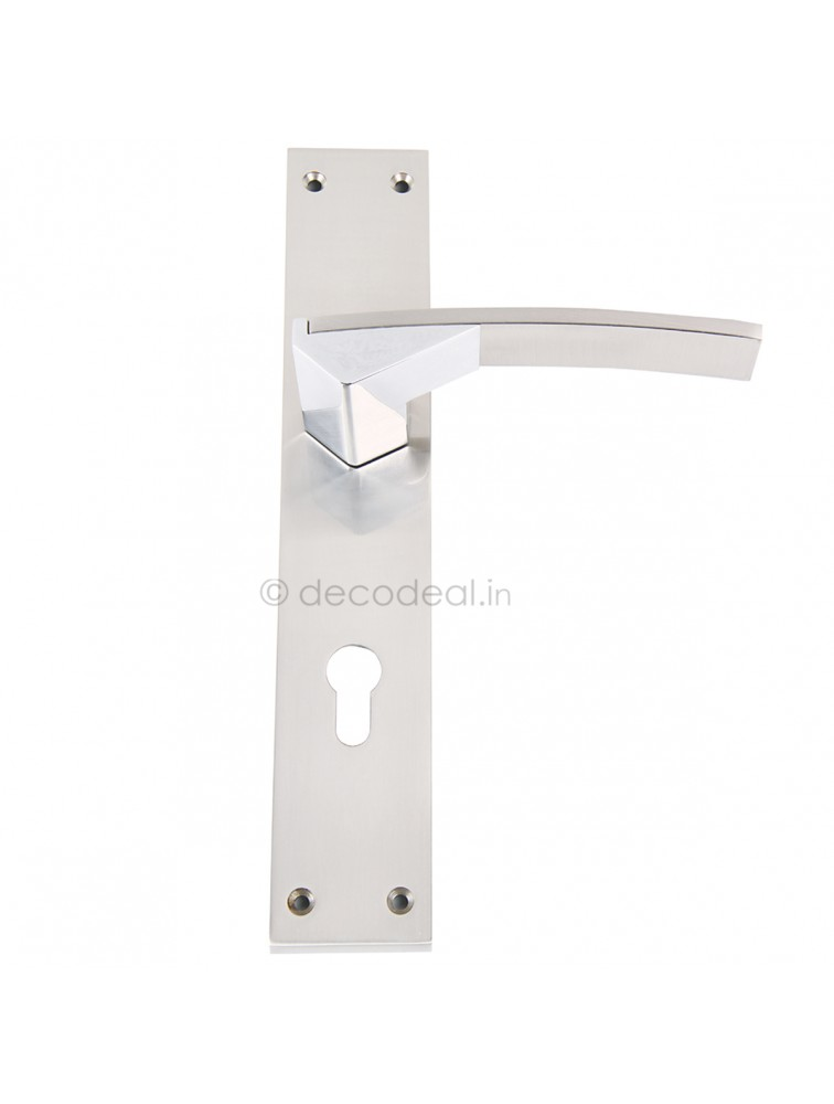 WM 8080  MORTISE HANDLE WITH LOCK, SRIS MA FILS, 275mm, WHITE METAL
