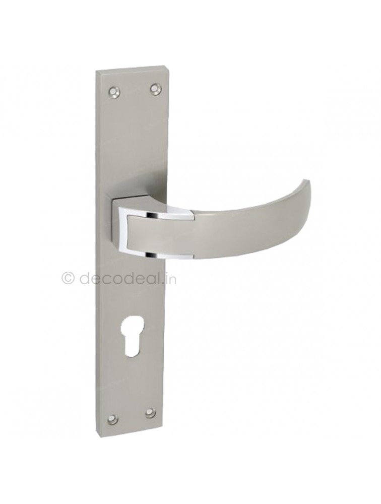 WM 9090 MORTISE HANDLE WITH LOCK, SRIS MA FILS, 275mm, WHITE METAL