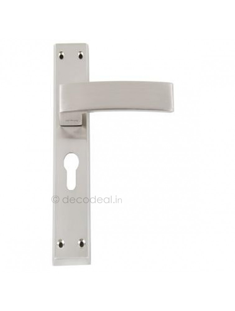 WM EC 111 MORTISE HANDLE WITH LOCK, SRIS MA FILS,  WHITE METAL
