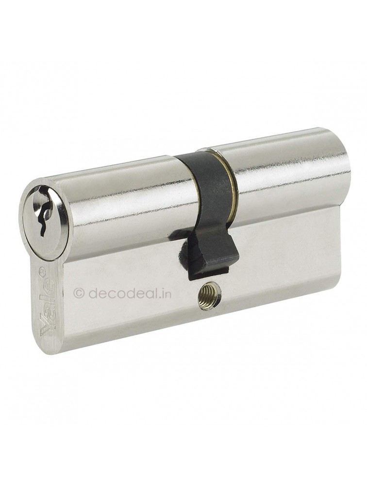 Euro Profile Cylinders - Computerised Keys (5Nos. Dimpled) 90MM (45+45), Door Cylinder, Yale Home Security, Mechanical Products, yale