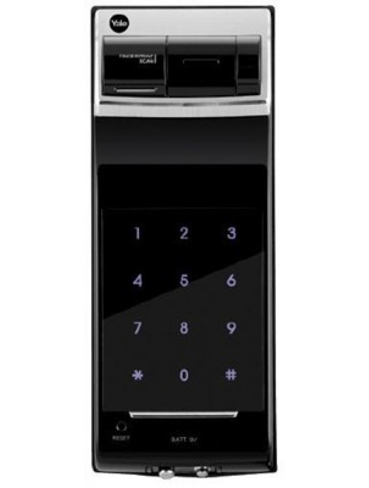 YDR4110 (Rim Lock) - Fingerprint, PIN Code & Remote Control (Optional), yale digital door lock, yale