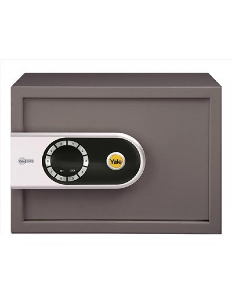 YSEL/250/EG5 - Elite Digital Safe (Medium - Cool Gray), Elite Safes, yale digital safe, yale